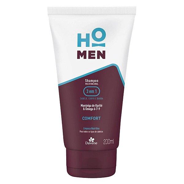 Shampoo Davene Ho Men Comfort 220ml