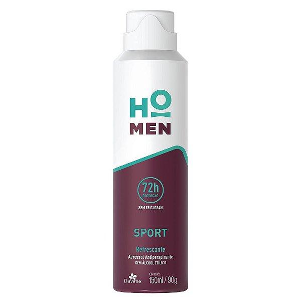 Desodorante Aerosol Davene Ho Men Sport 150ml