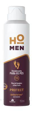 Desodorante Aerosol Davene Para os Pés Ho Men Protect 150ml