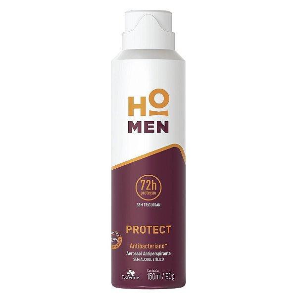 Desodorante Aerosol Davene Ho Men Protect 150ml