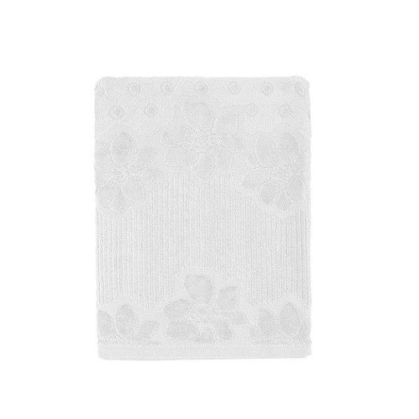 Toalha de Banho Buddemeyer 70x135cm Lollipop Branco