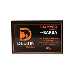 Shampoo em Barra Delion Homem para Barba 80g