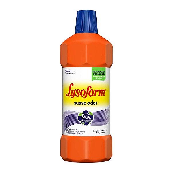 Desinfetante Lysoform 1L - Suave Odor