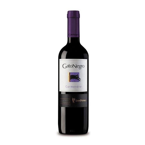 Vinho Tinto Gato Negro Carmenere 750ml
