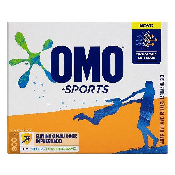 Sabão em Pó Omo Sports 800g