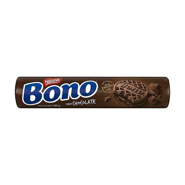 Biscoito Nestlé Bono Recheado Chocolate 126g