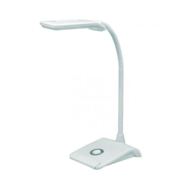 Luminária de Mesa Taschibra TLM Flex 4W Branco Bivolt
