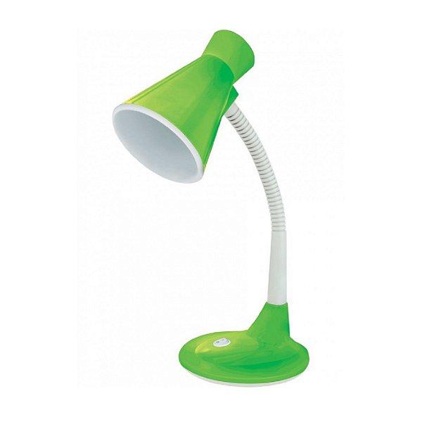 Luminária de Mesa Taschibra TLM 03 Articulável Verde