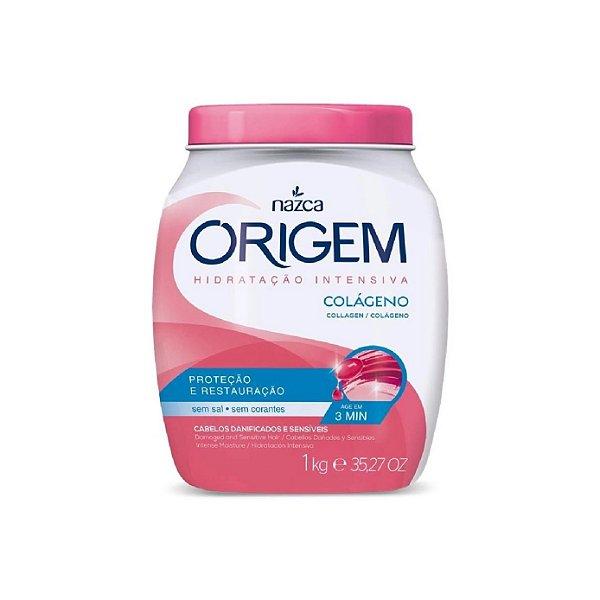 Creme de Tratamento Origem Colágeno Hidratação Intensiva 1Kg