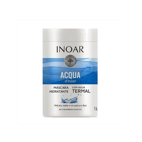 Máscara de Tratamento Inoar Acqua D'Inoar C/ Água Termal 1Kg