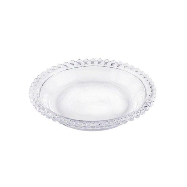 Conjunto de Pratos Cristal Rojemac C/4 14cm