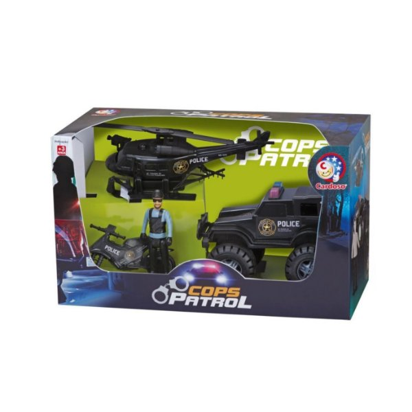 Playset New Cops Patrol