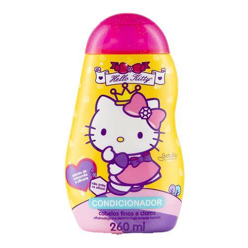 Condicionador Betulla Hello Kitty Camomila Cabelos Finos e Claros 260ml
