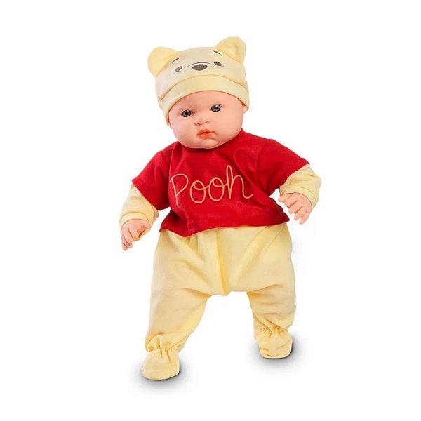 Boneca Bebê Pooh