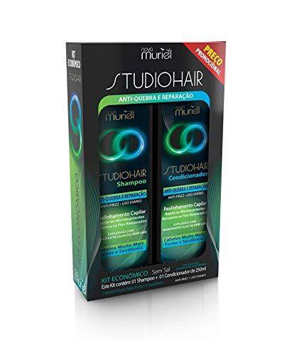Kit Shampoo e Condicionador Muriel Anti-Quebra 250ml