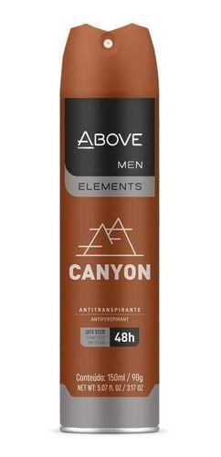 Desodorante Aerosol Above Men Elements Canyon 150ml