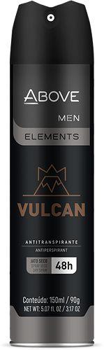 Desodorante Aerosol Above Men Elements Vulcan 150ml
