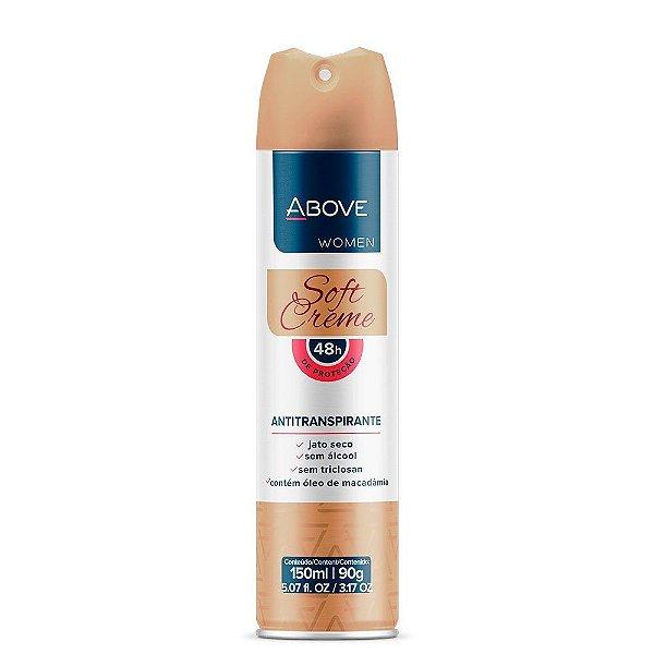 Desodorante Aerosol Above Soft Creme 150ml