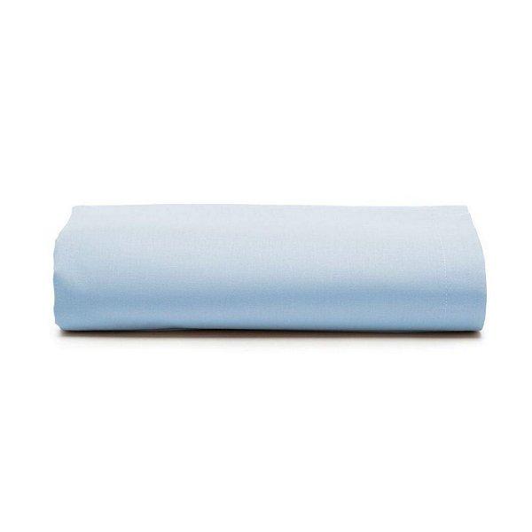 Lençol Avulso Solteiro Santista C/ Elástico Liso Azul