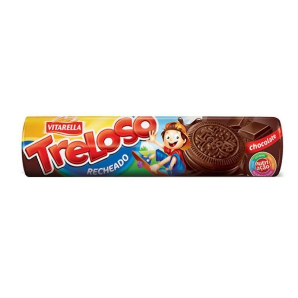Biscoito Treloso Recheado 130g