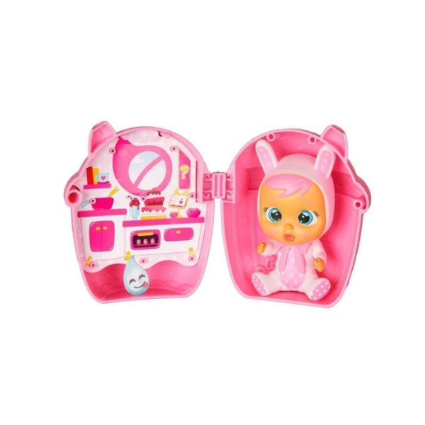 Boneca Colecionável Mini Cry Babies Supresa Magic Tears