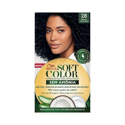 Coloração Soft Color 28 Preto Azulado
