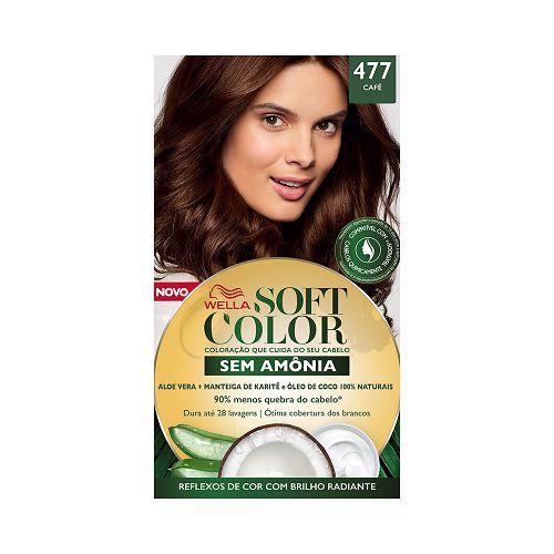 Coloração Soft Color 28 Café