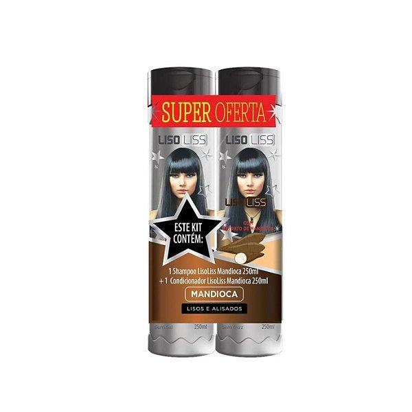 Kit Shampoo e Condicionador Muriel Mandioca 250ml