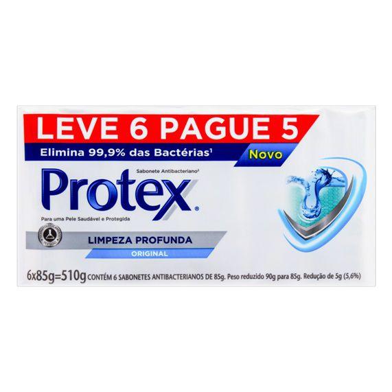 Sabonete Protex Leve 6 Pague 5 Limpeza Profunda 85g
