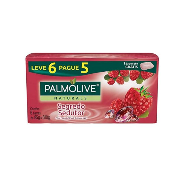 Sabonete Palmolive Naturals Segredo Sedutor Leve 6 Pague 5