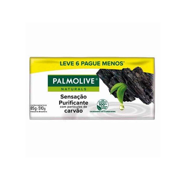 Sabonete Palmolive Naturals Sensação Purificante Leve 6 Pague 5