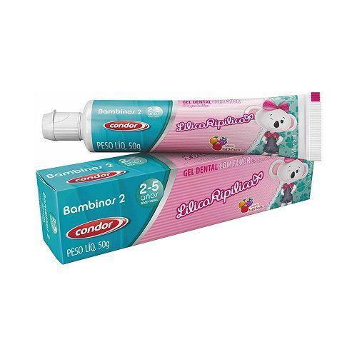 Gel Dental Condor Lilica Ripilica Tutti Frutti 3511 50g
