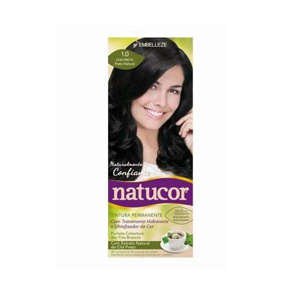 Coloração Natucor 1.0 Chá Preto