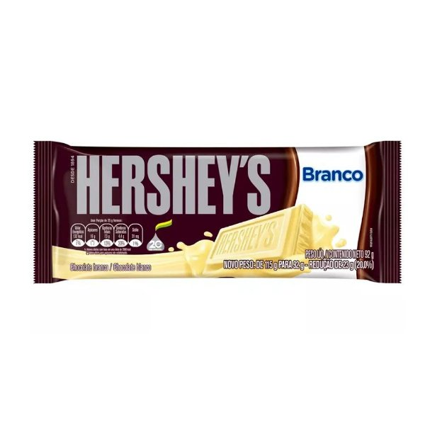 Barra de Chocolate Hershey's Branco 92g