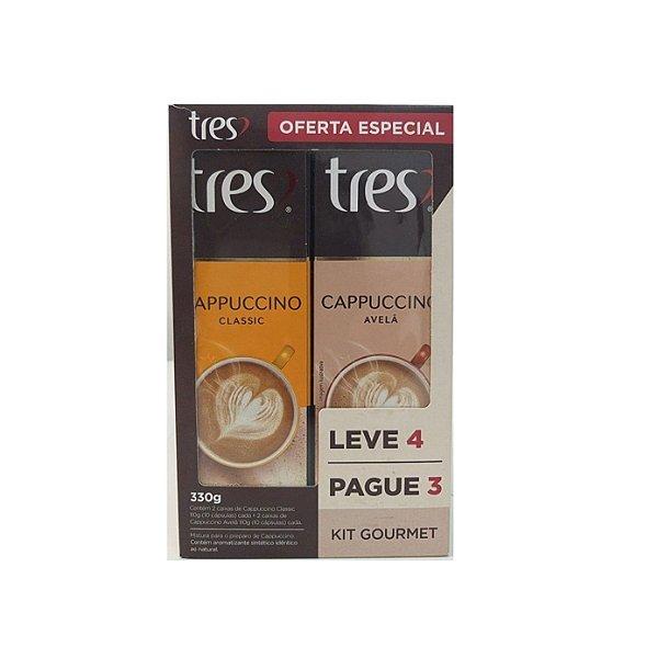 Kit Cápsulas Tres Gourmet Leve 4 Pague 3