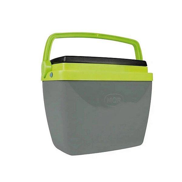 Caixa Térmica Mor 6L Cinza/Verde