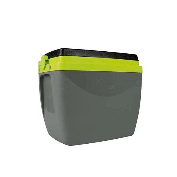 Caixa Térmica Mor 18L Cinza/Verde