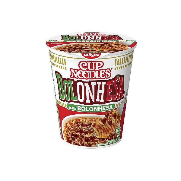 Cup Noodles Nissin Bolonhesa 72g