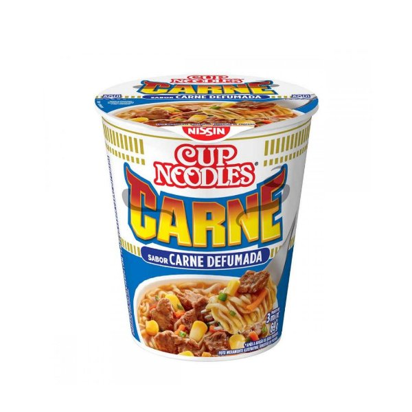 Cup Noodles Nissin Carne Defumada 69g
