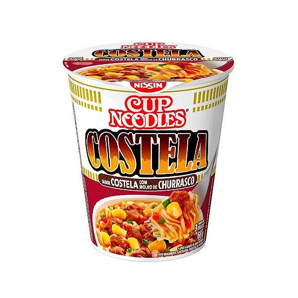 Cup Noodles Nissin Costela Com Molho de Churrasco 68g