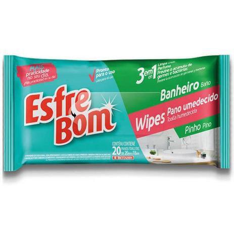 Pano Úmido Bettanin Esfrebom Banheiro BT4690
