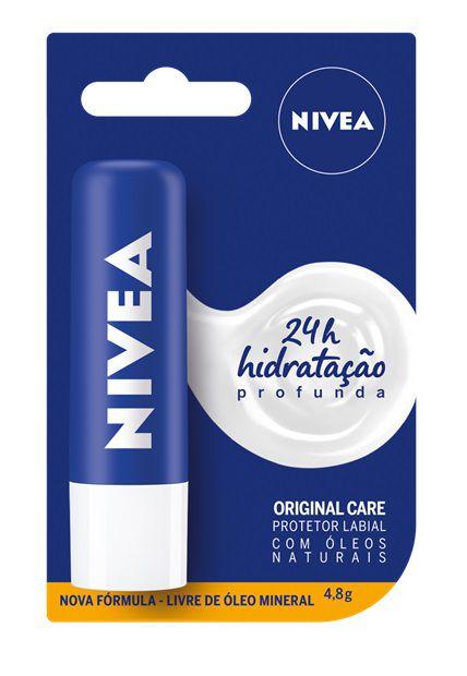 Protetor Labial Nivea Original Care 4,8g