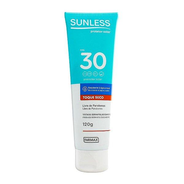 Protetor Solar Sunless Toque Seco FPS30 120g