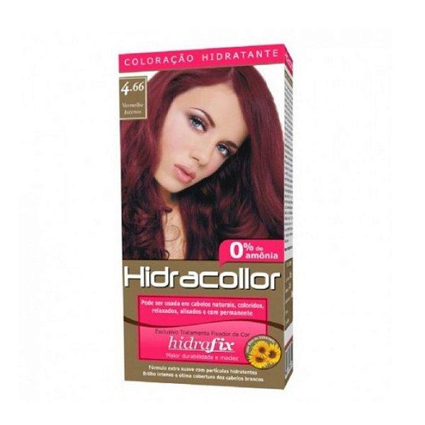 Coloração Hidracollor 4.66 Vermelho Intenso