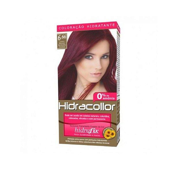 Coloração Hidracollor 6.66 Louro Escuro Vermelho