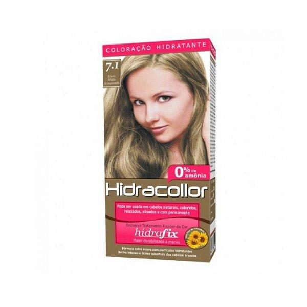 Coloração Hidracollor 7.1 Louro Acinzentado
