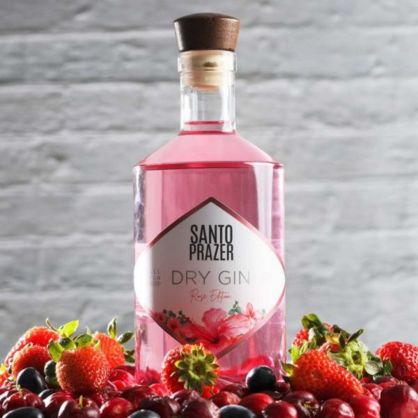 Gin Santo Prazer Rose Edition 750ml
