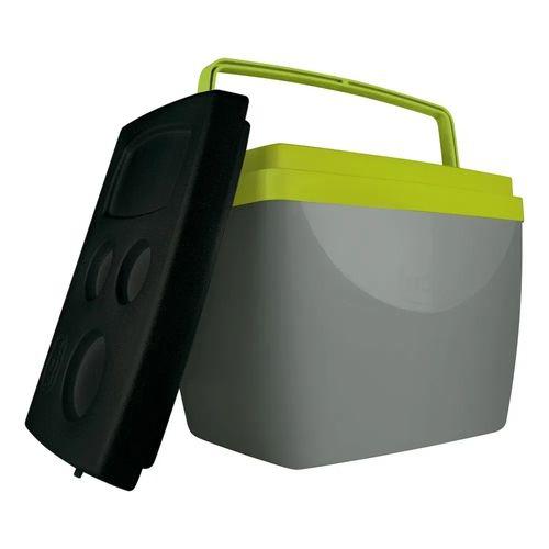 Caixa Térmica Mor Cinza com Verde 25108240 34L