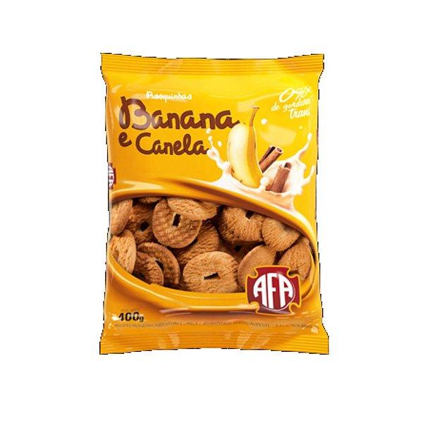 Biscoito Rosquinha AFA Banana e Canela 400g
