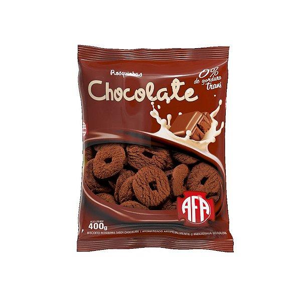 Biscoito Rosquinha AFA Chocolate 400g